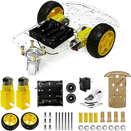 2WD Robot Motor chassis