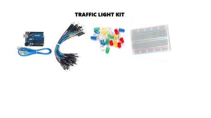 DIY Traffic Light Robotics Kit