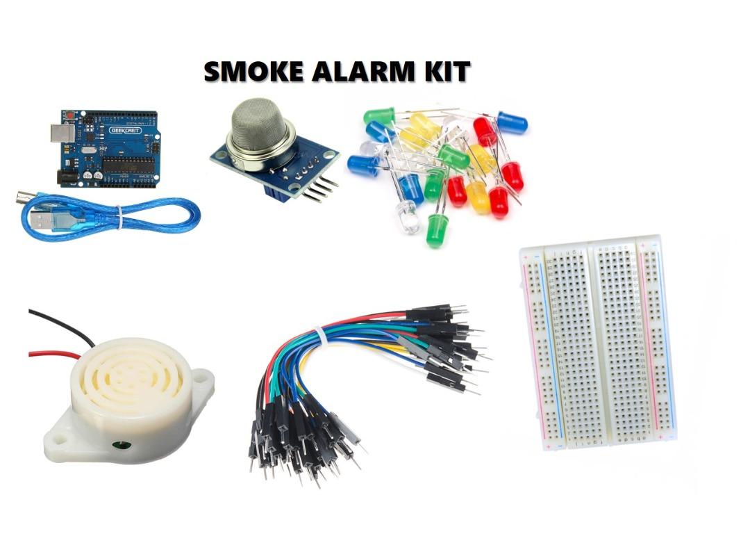 DIY Smoke Alarm/Traffic Light Robotics Kit