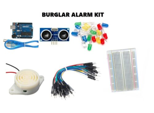 DIY Burglar Alarm/Traffic Light Robotics Kit