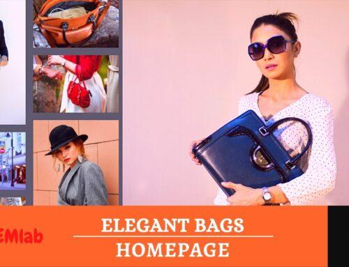 Elegant Bags Homepage