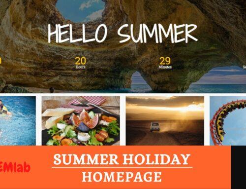 Hello Summer Homepage